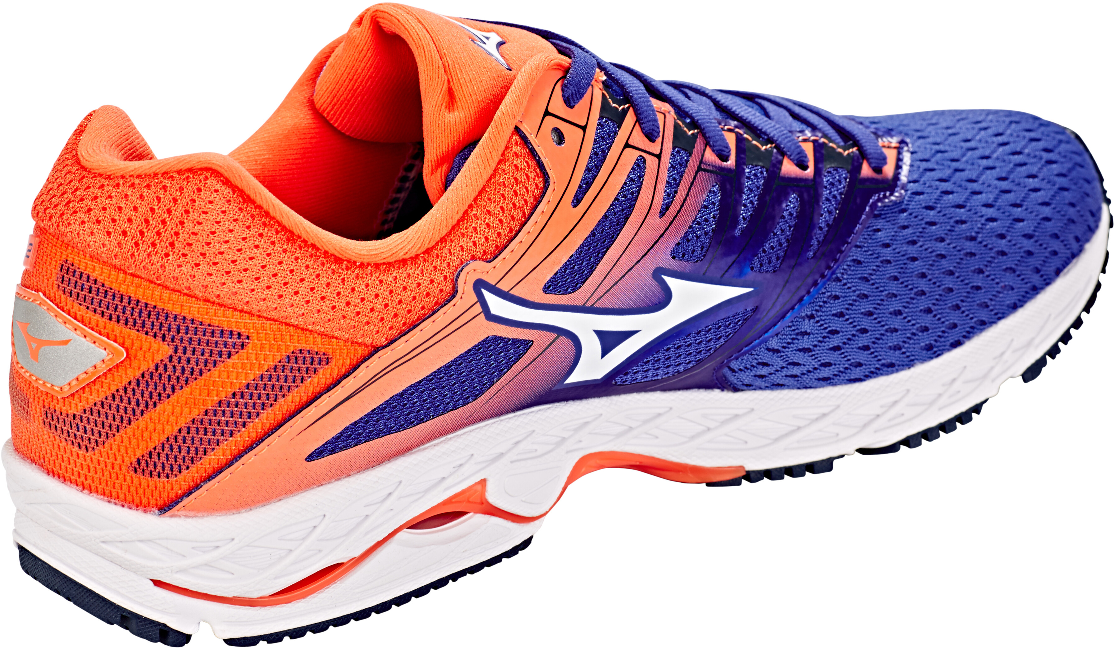 release date: d742e 5a323 Mizuno Wave Shadow 2 Shoes Men reflex blue/white/nasturtium